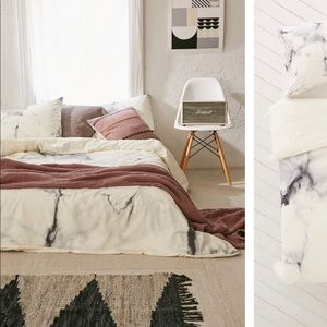Marble Urban Outfitters Duvet Cover